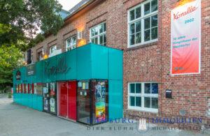 Immobilienmakler Volksdorf Bürgerhaus und Kino Koralle in Hamburg Volksdorf
